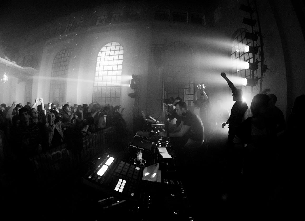 Festival musica elettronica nella Fabbrica