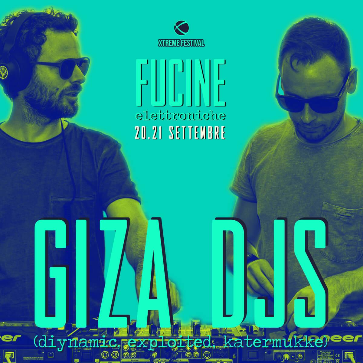 gizA djs - Fucine Elettroniche Belluno - Xtreme Festival